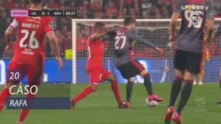 SL Benfica, Caso, Rafa aos 20'