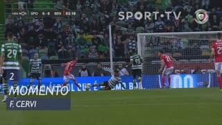 SL Benfica, Jogada, F. Cervi aos 2'