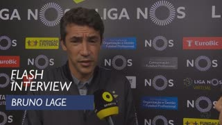Liga (2ª): Flash Interview Bruno Lage