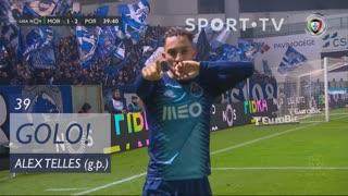 GOLO! FC Porto, Alex Telles aos 39', Moreirense FC 1-2 FC Porto