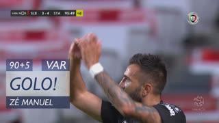 GOLO! Santa Clara, Zé Manuel aos 90'+5', SL Benfica 3-4 Santa Clara