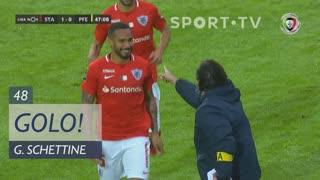 GOLO! Santa Clara, Guilherme Schettine aos 48', Santa Clara 1-0 FC P.Ferreira