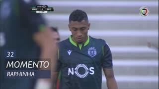 Sporting CP, Jogada, Raphinha aos 32'
