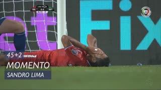 Gil Vicente FC, Jogada, Sandro Lima aos 45'+2'