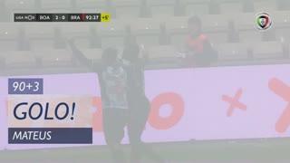 GOLO! Boavista FC, Mateus aos 90'+3', Boavista FC 2-0 SC Braga