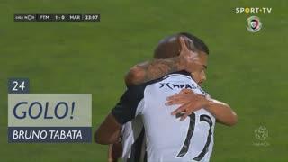 GOLO! Portimonense, Bruno Tabata aos 23', Portimonense 1-0 Marítimo M.