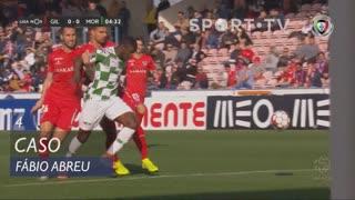 Moreirense FC, Caso, Fábio Abreu aos 4'