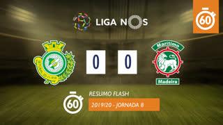 Liga NOS (8ªJ): Resumo Flash Vitória FC 0-0 Marítimo M.