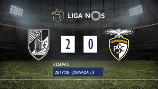 I Liga (13ªJ): Resumo Vitória SC 2-0 Portimonense