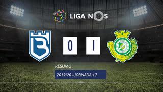 Liga NOS (17ªJ): Resumo Belenenses SAD 0-1 Vitória FC