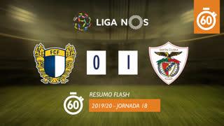 Liga NOS (18ªJ): Resumo Flash FC Famalicão 0-1 Santa Clara