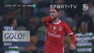 GOLO! SL Benfica, Rafa aos 90'+9', Sporting CP 0-2 SL Benfica