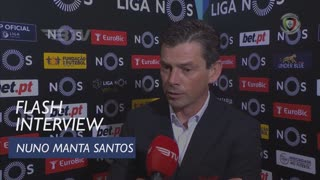 Liga (16ª): Flash Interview Nuno Manta Santos