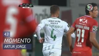 Vitória FC, Jogada, Artur Jorge aos 43'