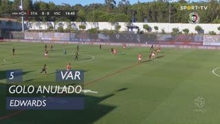 Vitória SC, Golo Anulado, Edwards aos 5'