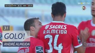 GOLO! SL Benfica, André Almeida aos 31', Portimonense 0-2 SL Benfica