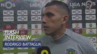 Liga (6ª): Flash Interview Rodrigo Battaglia