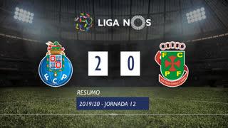 I Liga (12ªJ): Resumo FC Porto 2-0 FC P.Ferreira