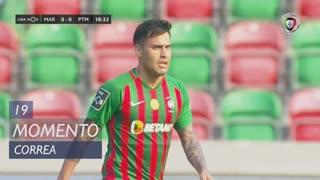 Marítimo M., Jogada, Correa aos 19'