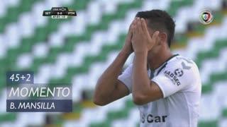 Vitória FC, Jogada, B. Mansilla aos 45'+2'