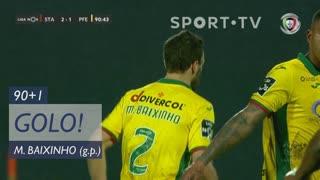 GOLO! FC P.Ferreira, Marco Baixinho aos 90'+1', Santa Clara 2-1 FC P.Ferreira