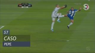 FC Porto, Caso, Pepe aos 57'