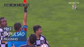 Boavista FC, Expulsão, Paulinho aos 90'+2'