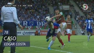 Marítimo M., Caso, Edgar Costa aos 78'