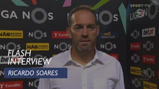 """Ricardo Soares: """"Encontrámos um FC Porto muito eficaz e moralizado"""""""