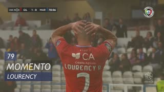 Gil Vicente FC, Jogada, Lourency aos 79'