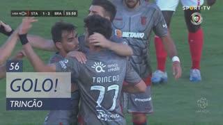 GOLO! SC Braga, Trincão aos 56', Santa Clara 1-2 SC Braga