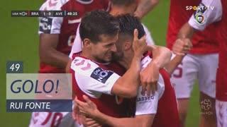 GOLO! SC Braga, Rui Fonte aos 49', SC Braga 1-0 CD Aves