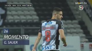 Boavista FC, Jogada, G. Sauer aos 26'