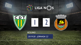 I Liga (22ªJ): Resumo CD Tondela 1-2 Rio Ave FC