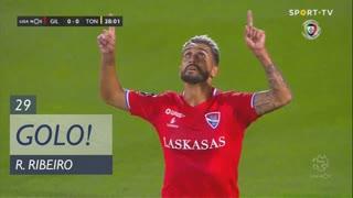 GOLO! Gil Vicente FC, Rúben Ribeiro aos 29', Gil Vicente FC 1-0 CD Tondela