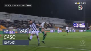 Vitória FC, Caso, Ghilas aos 49'