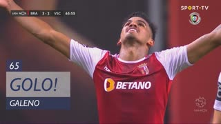 GOLO! SC Braga, Galeno aos 65', SC Braga 3-2 Vitória SC