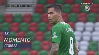 Marítimo M., Jogada, Correa aos 18'