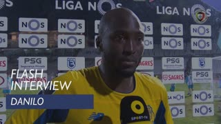 Liga (13ª): Flash Interview Danilo