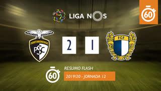 Liga NOS (12ªJ): Resumo Flash Portimonense 2-1 FC Famalicão