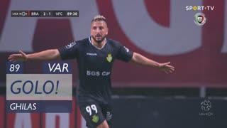 GOLO! Vitória FC, Ghilas aos 89', SC Braga 2-1 Vitória FC