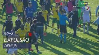 FC P.Ferreira, Expulsão, Deni Jr. aos 90'+8'