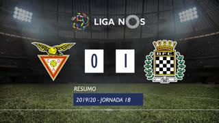 Liga NOS (18ªJ): Resumo CD Aves 0-1 Boavista FC
