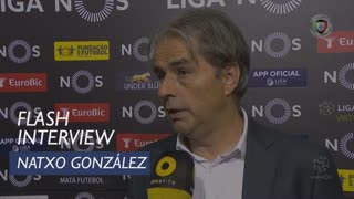Liga (10ª): Flash Interview Natxo González