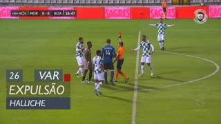 Moreirense FC, Expulsão, Halliche aos 26'
