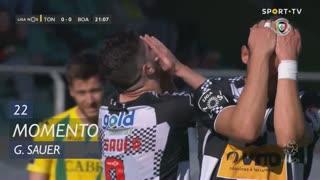 Boavista FC, Jogada, G. Sauer aos 22'