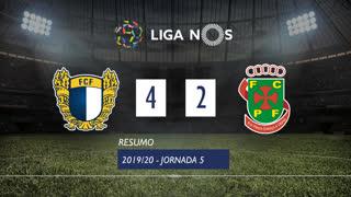 Liga NOS (5ªJ): Resumo FC Famalicão 4-2 FC P.Ferreira