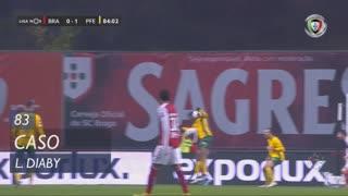 FC P.Ferreira, Caso, L. Diaby aos 83'