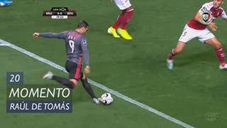 SL Benfica, Jogada, Raúl de Tomás aos 20'