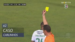 Vitória FC, Caso, Carlinhos aos 62'